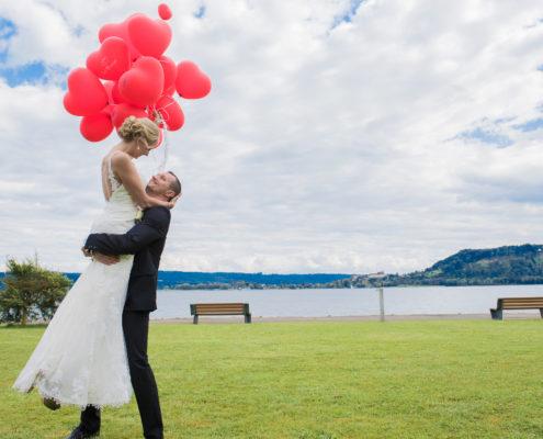 Wundervolle Hochzeitsfotos - Hochzeitsfotograf Zürich Ostschweiz Graubünden